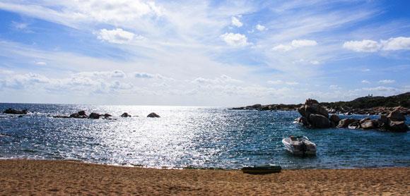 Belle plage de Corse