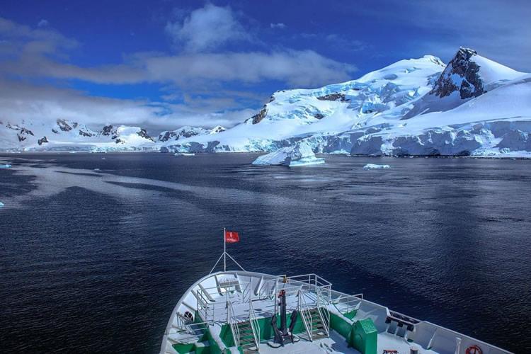 Antarctique - Paradise Bay - croisière