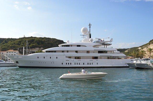 yacht pour croisière